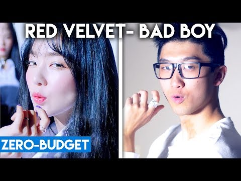 Video K-POP WITH ZERO BUDGET! (Red Velvet- 'Bad Boy') download in MP3, 3GP, MP4, WEBM, AVI, FLV January 2017