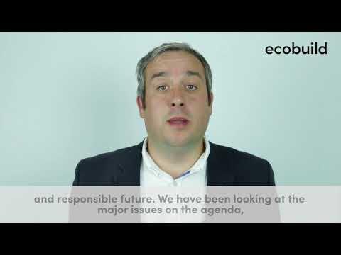 Martin Hurn, ecobuild vlog series, episode 3