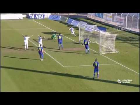 FOOTBALL LEAGUE: ΚΙΣΣΑΜΙΚΟΣ – ΚΕΡΚΥΡΑ 1-0 | ΓΚΟΛ | ΕΡΤ