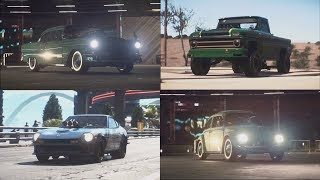 Need for Speed Payback - All Derelict Car Part Locations Guide (NFS Payback)