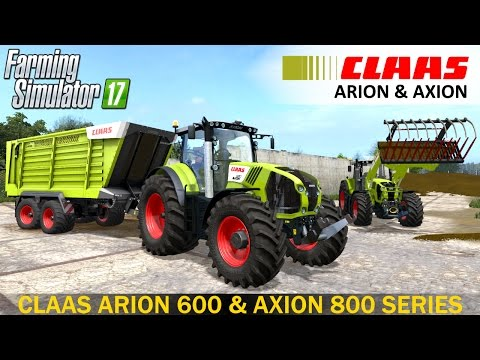 CLAAS AXION 800 SERIES v2.0