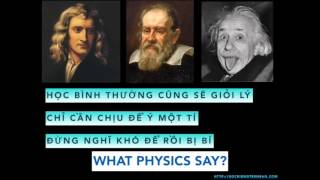 What does Physics say - Ráp Vật lý