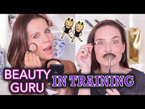 NO MAKEUP MAKEUP | Teach Me How To Beauty Tour EP1 ft. Tati Westbrook