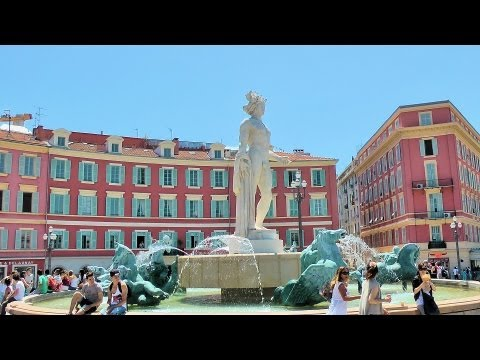 Nice - The streets of Old Town (Vieux-Nice), French Riviera, France [HD] (videoturysta)