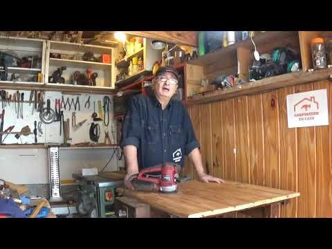 Cómo usar una Lijadora Orbital