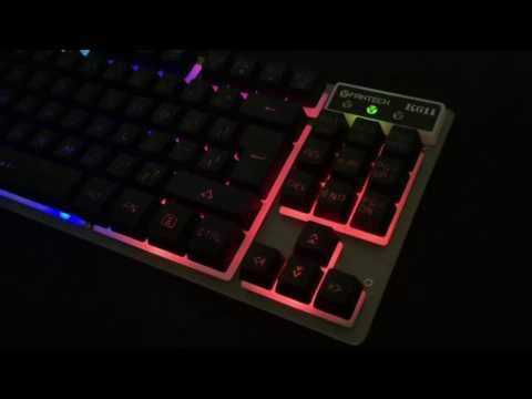 Fantech K611 Fighter TKL (tenkeyless) Backlit Membrane Gaming Keyboard