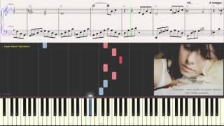 Ваенга - Шопен (Ноты для фортепиано) (piano cover)