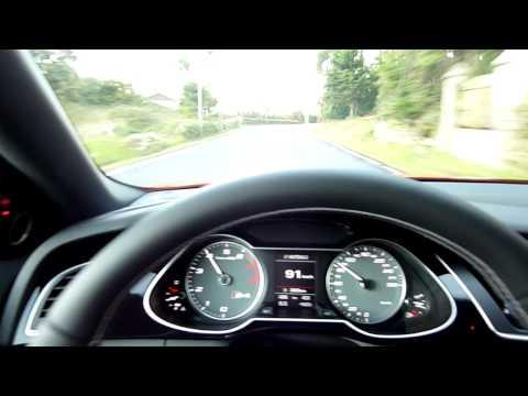 2012 Audi S4 Exhaust-Sound