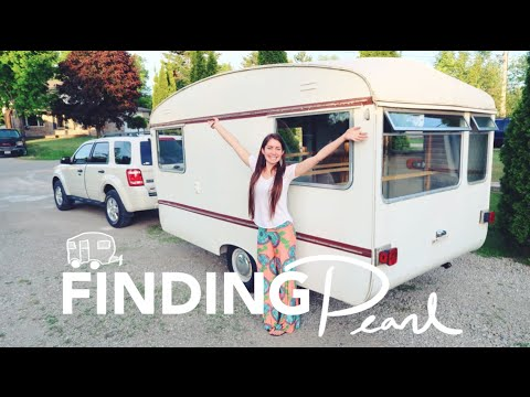 VLOG: Finding Pearl...🌈 a 1969 Vintage Bailey Caravan Trailer