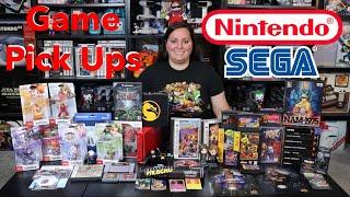 Recent Game Pick Ups! (Nintendo, Sega, PlayStation, Neo Geo, Magnavox, Atari) Retro and New Games!