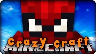 Minecraft Mods - CRAZY CRAFT 2.0 - Ep # 48 'WE NEED SPIDERMAN!!' ( Superhero Mod)