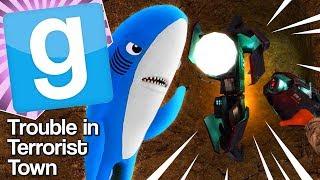 ROBOT SHARK | Gmod TTT