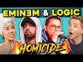 Download Video Adults React To Logic - Homicide Ft. Eminem