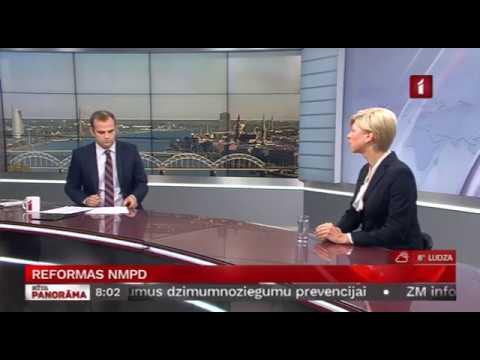Veselības ministres Andas Čakšas saruna LTV par reformām NMP dienestā