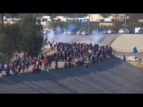 Απέλαση μεταναστών που προσπάθησαν να περάσουν τα σύνορα με τις ΗΠΑ…