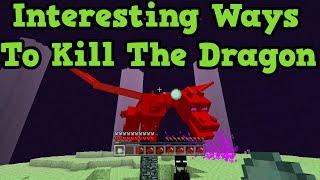 Minecraft Xbox One + PS4: Weird Ways To Kill the Enderdragon