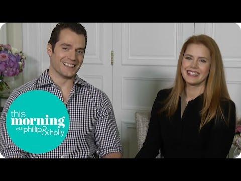 Henry Cavill And Amy Adams On Batman V Superman   This Morning