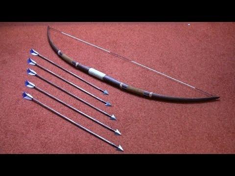 Connor costume (AC3): longbow & arrows tutorial