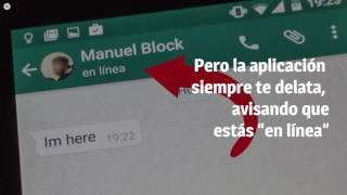 """¿Buscas privacidad? Así puedes dejar de estar """"en línea"""" en Whatsapp"""