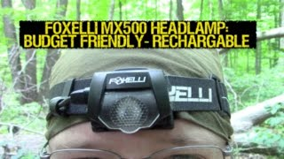 It's a fact: You aren't a cat. You can't see in the dark. Ergo, you need a flashlight. The Foxelli MX500 is a great budget friendly option with all the right features, reviewed after 9+ months of actual use. WEBSITE: http://www.foxelli.com/collections/headlamps/products/rechargeable-headlamp-mx500