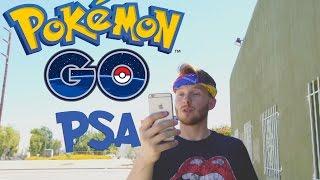Pokemon Go PSA   Phone Service Announcement, pokemon go, pokemon go ios, pokemon go apk