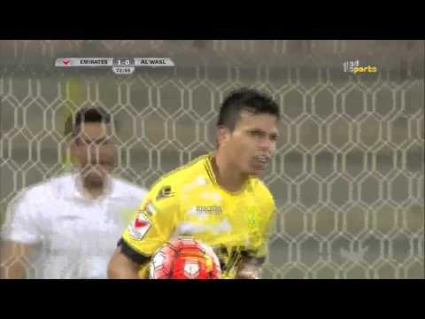 Al Wasl 1 x Emirates 1 AG League 04 03 2016 Goal