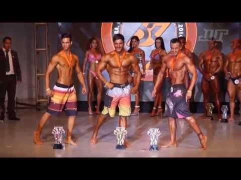 Men's Physique Copa Vizcaya Platinum 2014