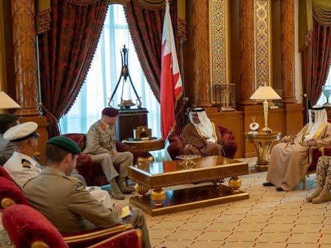 سمو ولي العهد يشيد بمستوى التطور في علاقات التعاون بين مملكة البحرين والمملكة المتحدة
