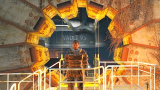 FALLOUT 4 Exploring Vault 95