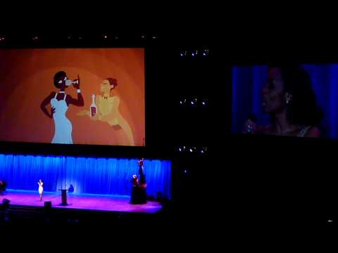 Disney Princess voices sing their songs at 2011 D23 Expo