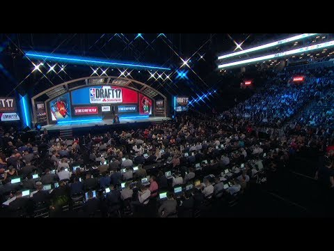 Full 2017 NBA Draft First Round (Picks 1-30) (видео)