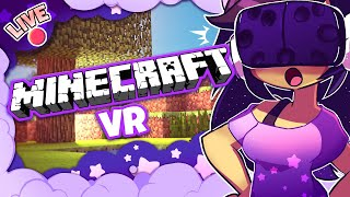 Becoming My Minecraft Character! [MINECRAFT VR]