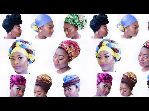 How to Slay & Rock Head Wrap -- 9 Different Ways
