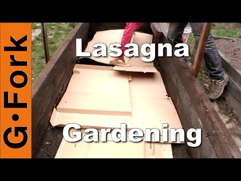 Lasagna Gardening How To – GardenFork.TV