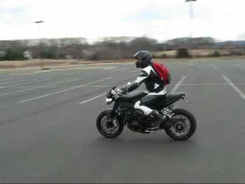 Triumph Speed Triple with CRM Exhaust