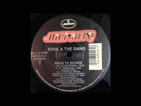 Kool & The Gang - Rags To Riches (12'' Club Remix)