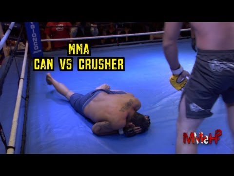 mma - Gionco International presents TOTAL MAYHEM 3! It's Can vs Crusher! The worst MMA fighter in the world gets a last minute replacement title shot!