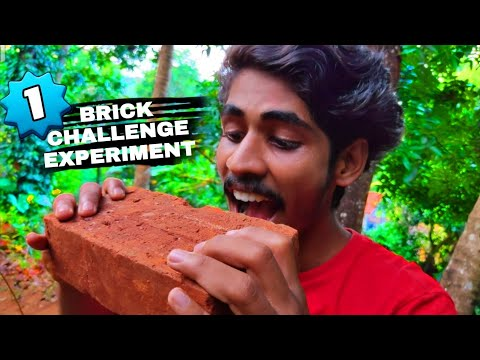 EXPERIMENT CHALLENGE WITH BRICKS 🤯| ഇഷ്ടിക കൊണ്ടൊരു കിടിലൻ CHALLENGE | Arjun talks