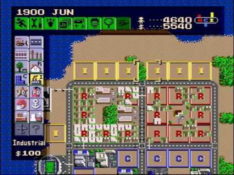 SimCity Super Nintendo