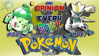 Video My Opinion on EVERY Shiny Pokémon [Generation 1 to 7] MP3, 3GP, MP4, WEBM, AVI, FLV Maret 2019