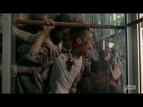 Noahs Terrifying Death. Walking Dead Season 5 episode 14