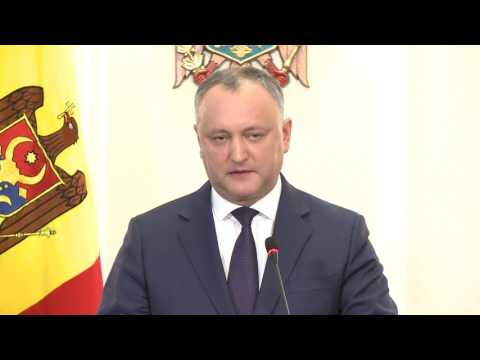 Head of State holds talks with Parliament Speaker, Prime Minister on political, economic situation in Moldova