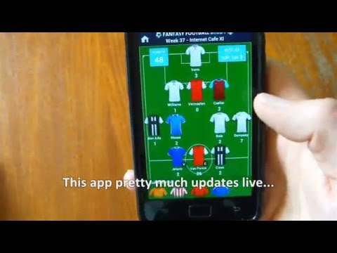 Video of Fantasy Football Buddy