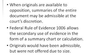 Gary Sokolow AJ6 Intro to Evidence 11152012