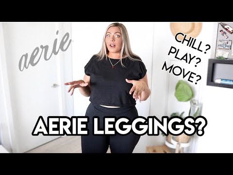 I Tried ALL The AERIE Leggings + Are they Plus Size friendly?