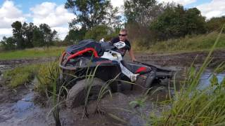 9. Canam outlander l 570 xmr in deep