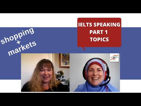 IELTS Speaking: Chit-Chat episode 5 - shopping and markets