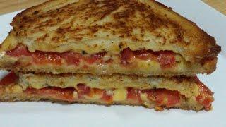HOW TO MAKE TOMATO CHEESE SANDWICH  RECIPE
