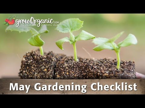 May Gardening Checklist
