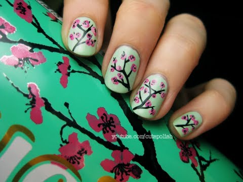 ΣΧΕΔΙΑ ΝΥΧΙΩΝ - facebook.com/cutepolish twitter.com/cutepolish pintrest.com/cutepolish !!!!!! ;) i decided to create a new cherry blossom design for this spring! i have one ...